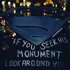 Superman's monument